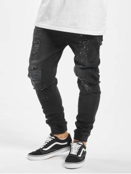 VSCT Clubwear Antifit-farkut Noah Cuffed Antifit musta