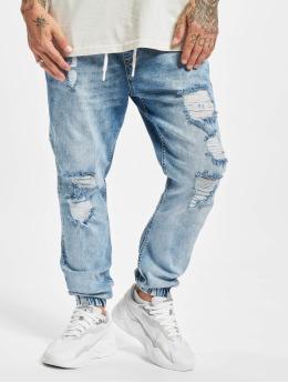 VSCT Clubwear Antifit jeans Noah Cuffed Laces blå