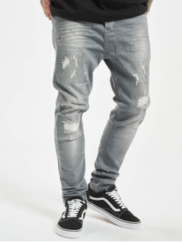 VSCT Clubwear Antifit jeans Keanu Lowcrotch grå