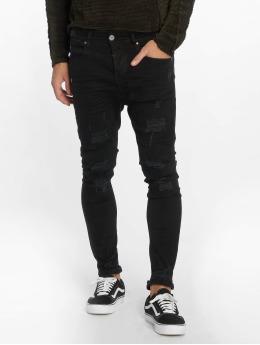 VSCT Clubwear Antifit jeans Keanu Lowcrotch svart