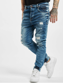 VSCT Clubwear Antifit Noah Acid Cuffed Denim  niebieski