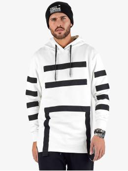 VSCT Clubwear Bluzy z kapturem Geomatrix bialy