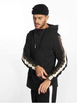 VSCT Clubwear Bluzy z kapturem Racer czarny