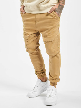 VSCT Clubwear Cargobroek Noah Cargo Cuffed beige
