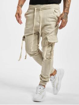 VSCT Clubwear Cargobroek Noah Denim Cargo Cuffed beige