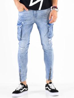 VSCT Clubwear Cargobroek Keanu blauw