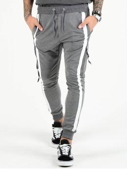 VSCT Clubwear Cargohose 4-Stripe PKT grau