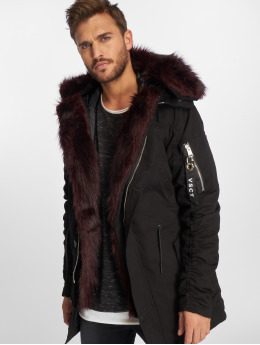 VSCT Clubwear Chaqueta de invierno 2-Face negro