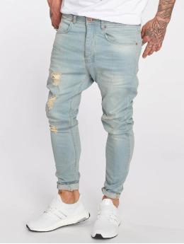 VSCT Clubwear dżinsy przylegające Keanu Lowcrotch niebieski