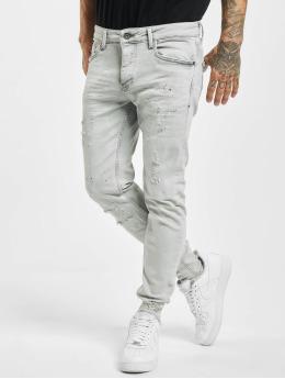VSCT Clubwear dżinsy przylegające Thor szary