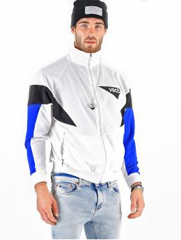 VSCT Clubwear Giacca Mezza Stagione Retro Logo bianco