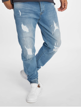 VSCT Clubwear Jean carotte antifit Noah Cuffed Antifit bleu