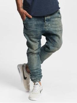 VSCT Clubwear Jean carotte antifit Noel Cuffed bleu