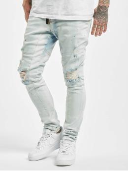VSCT Clubwear Jean carotte antifit Keanu Zip Antifit bleu