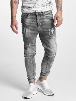 VSCT Clubwear Jean carotte antifit Carter 5 Pocket Denim  gris