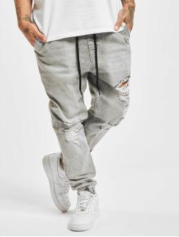 VSCT Clubwear Jean carotte antifit Noah Cuffed Laces gris