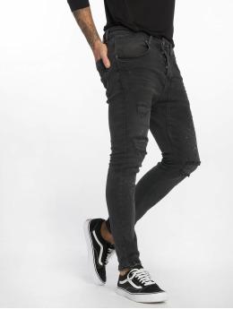 VSCT Clubwear Jean carotte antifit Keanu Lowcrotch noir