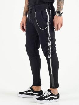 VSCT Clubwear Joggebukser Luxury Altered Stripe svart