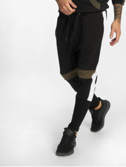 VSCT Clubwear Jogging kalhoty Racer čern
