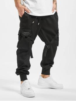 VSCT Clubwear Jogging kalhoty Combat Antifit Nylon  čern