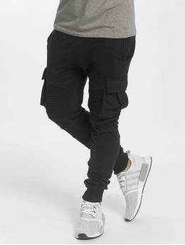 VSCT Clubwear Jogging kalhoty Caleb  čern