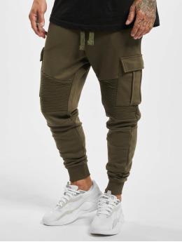 VSCT Clubwear Jogging kalhoty Caleb  hnědožlutý