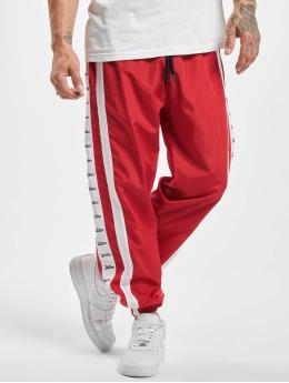 VSCT Clubwear joggingbroek MC Nylon Striped rood