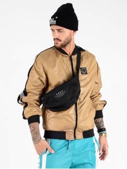 VSCT Clubwear Kurtki przejściowe Luxury Sleeve Zipper brazowy