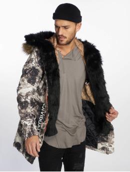 VSCT Clubwear Kurtki zimowe 3 Face Woodland szary