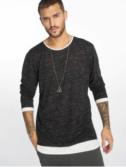 VSCT Clubwear Maglietta a manica lunga 2 in 1 grigio