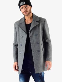 VSCT Clubwear Manteau Sophisticated 2 BtnRows gris