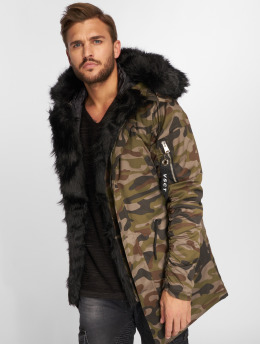 VSCT Clubwear Manteau hiver 2-Face camouflage
