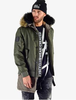 VSCT Clubwear Manteau hiver 2 In 1 Assasin kaki