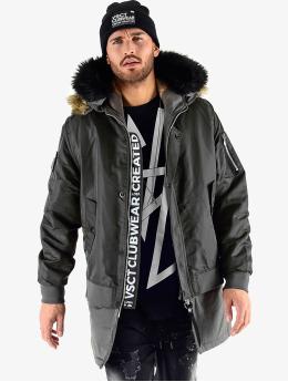 VSCT Clubwear Manteau hiver 2 In 1 Assasin noir