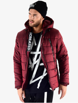 VSCT Clubwear Manteau hiver Padded  rouge