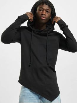 VSCT Clubwear Mikiny Hooded  èierna