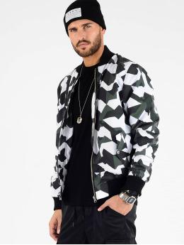VSCT Clubwear Overgangsjakker Tech Camo sort