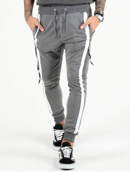 VSCT Clubwear Pantalone Cargo 4-Stripe PKT grigio