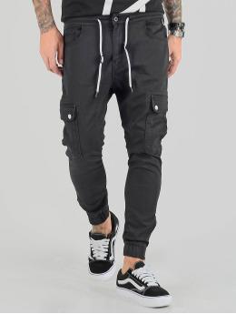 VSCT Clubwear Pantalone Cargo  Spencer Antifit nero