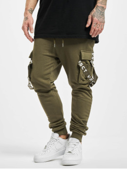 VSCT Clubwear Pantalone ginnico Cargo Logo Tape cachi