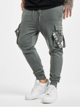 VSCT Clubwear Pantalone ginnico Cargo Logo Tape grigio