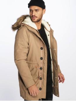 VSCT Clubwear Parka Bunda Luxury hnědý