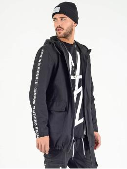 VSCT Clubwear Parka Twill  czarny
