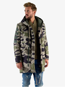 VSCT Clubwear Parka Corporate Army kamuflasje