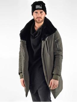 VSCT Clubwear Parka Asymetric Luxury Zipper  khaki