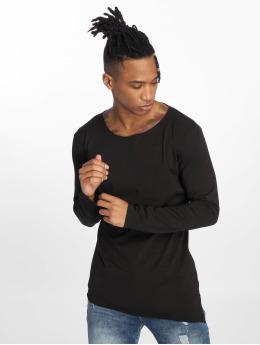 VSCT Clubwear Pitkähihaiset paidat Basicx musta