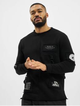 VSCT Clubwear Pullover Tape-Patches schwarz