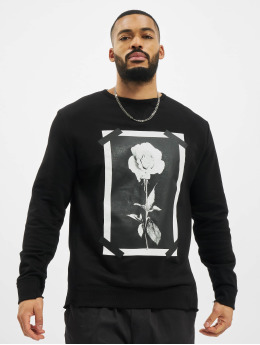 VSCT Clubwear Pullover Roses & Tape schwarz