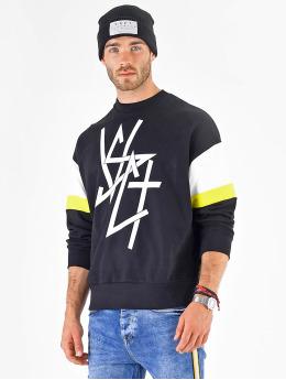VSCT Clubwear Pulóvre Coach Retro Crew modrá