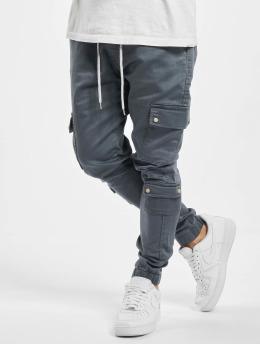 VSCT Clubwear Reisitaskuhousut  Nexus Straight Cuffed harmaa